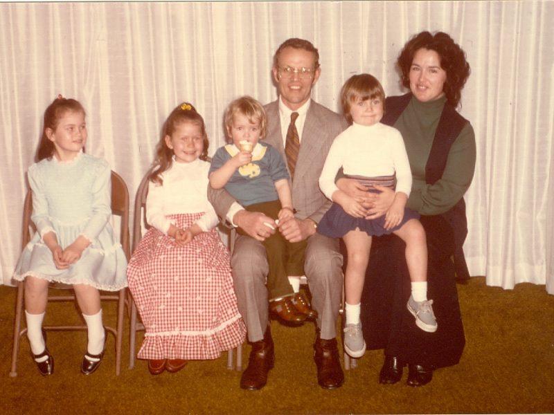 Dean family 1975